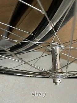 CycleOps Powertap SL 2.4 Ant+ power meter Wheel Set Carbon Hubs Excellent