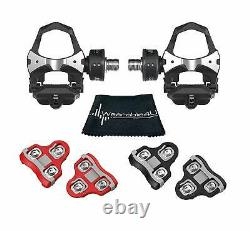 Favero Assioma Duo Pedal Cycling Power Meter with Cleats & Towel Bundle