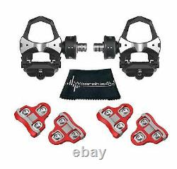 Favero Assioma Duo Pedal Cycling Power Meter with Wearable4U Cleats & Towel Bundle