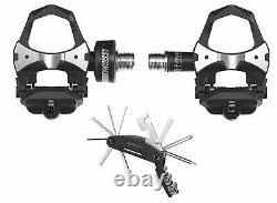 Favero Assioma Pedal Bike Power Meter Wearable4U Cycling Multi Tool Bundle (UNO)