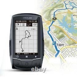 GPS Bike Computer Navigation BT ANT Speedometer Cadence/HR Monitor/Power meter