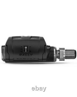 -Garmin Rally RK100 Sensore di Potenza Singolo Compatibilità con Tacchette Look
