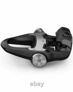 -Garmin Rally RS100 Sensore di Potenza Singolo Compatibilità con Tacchette Shim