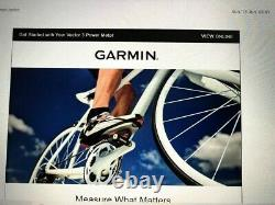 Garmin Vector 3 Dual Sided Power Meter Cycling Pedals