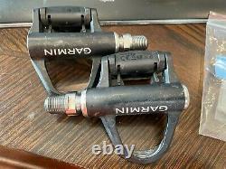 Garmin Vector 3s Power Meter Pedals Single Side Pair Set Road Bike PLEASE READ
