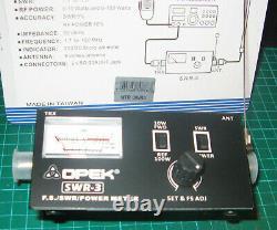 Opek Swr-3 Swr/power/ Ant. Field Strength Meter