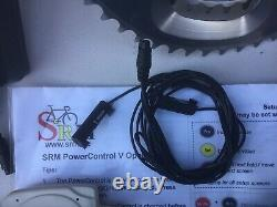 SRM Wired Shimano Dura Ace FC-7800 Power Meter Crankset 177.5mm 53/39T