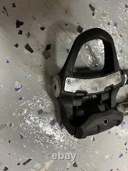 SUPER CLEAN! Garmin Vector 3s Power Meter Pedals Single Side Pair Set Road Bike