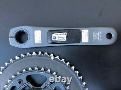 Shimano Ultegra 6800 Crankset Stages Power Meter 11sp 52/36 175mm Bluetooth ANT+