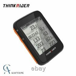 ThinkRider GPS Smart Cycling Computer ANT+ Bluetooth Powermeter Support LCD