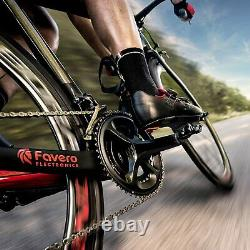 Wearable4U Favero Assioma Uno Pedal Cycling Power Meter with Cleats & Towel Bundle